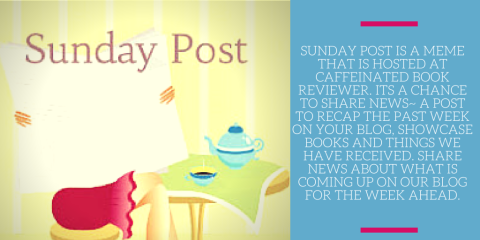 Sunday Post is a meme that is hosted at